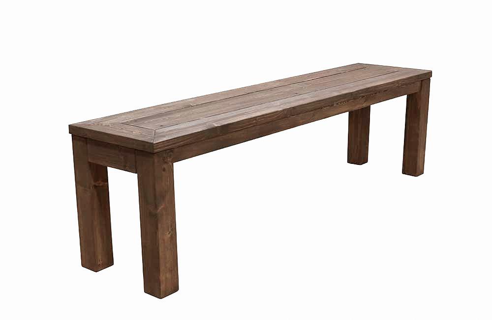 Aiapink massiivsete puidust jalgadega