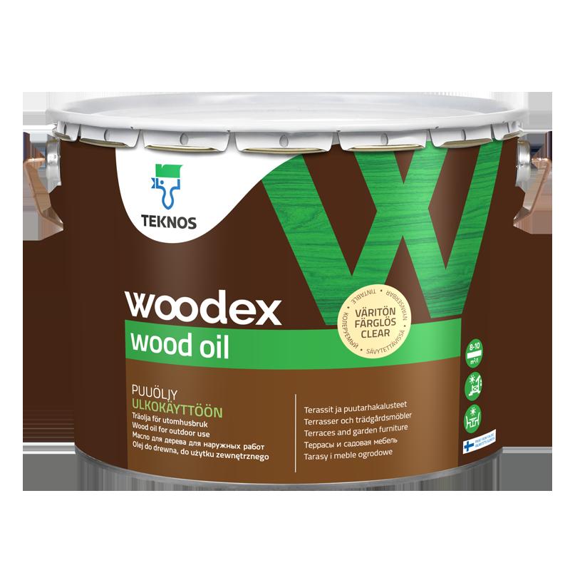 Woodex wood oil - puiduõli lahustibaasil